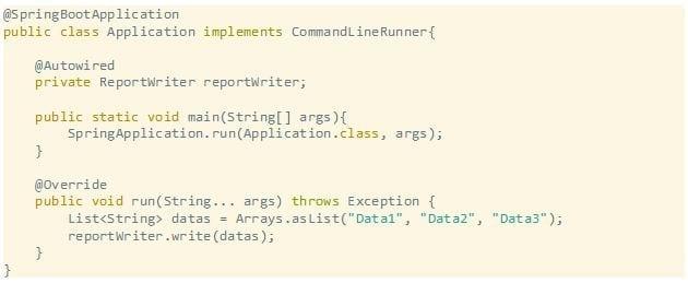 Spring coding sample