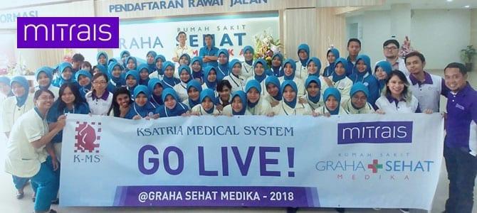 Ksatria Medical System (KMS) Has Gone Live at RS Graha Sehat Medika