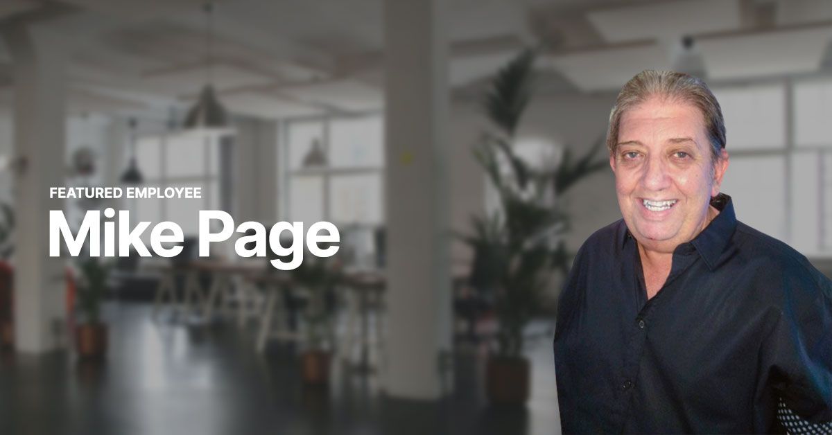 Mike Page - How His Passion Found Him